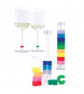 Pulltex Identity Wine Glass Identifier (10 pcs.). Website Exclusive