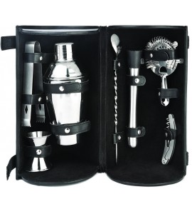 Barmaster's Pro Bar Travel Set (8 Piece Set)