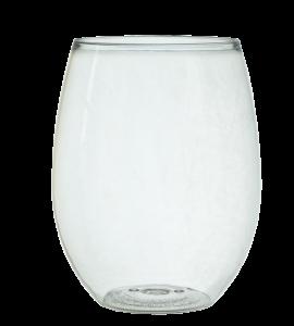 Rimless Tritan® Plastic Wine Tumbler 16 oz. Rimfull