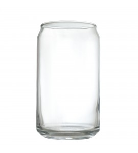 """Can Cooler"" glass, 16oz. Rimful"