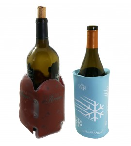CellarDine Therm Au Rouge & White Wine Chiller Gift Set