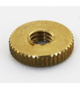 Inner Knurled Nut, Brass