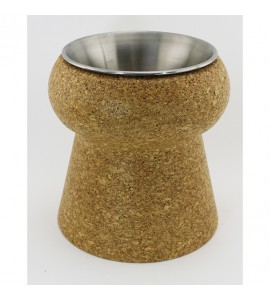 Cork Champagne Cooler with Stainless Steel Insert