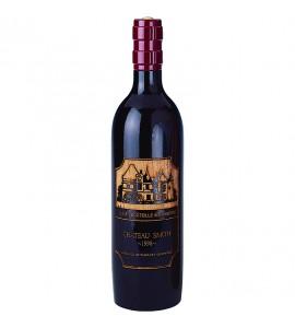 Cellarmaster's™ Wood Bottle Peppermill, Dark, Bordeaux Bottle Shape