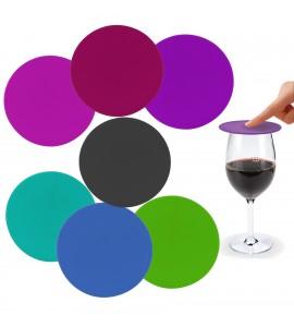 Vino Cover & Coaster™ (Set of 4)