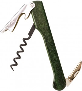 Capitano® Waiter's Corkscrew Greenwood Handle