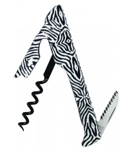 2026 Hugger™ Waiter's Corkscrew Designer Collection Zebra