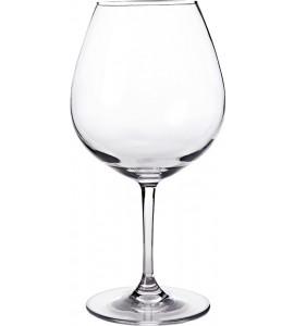 Burgundy Glass Tritan® Stem 24 oz. Rim-full