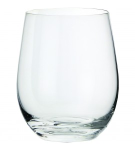 Vigneto Sheer Rim Stemless Wine Glass, 12 oz.