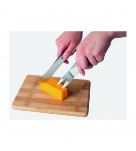 Stainless Steel Mono-Grip Cheese Tools-Set of 4