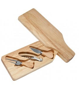 Wine & Cheese Set (Wine Bottle Shape), 3 Tools