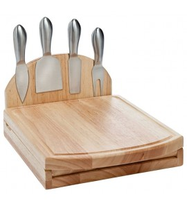 Swing-A-Way Foldable Cheese Set, 4 Tools