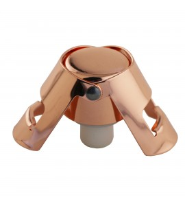 Quick Seal™ Copper plated Stainless Steel Champagne Stopper