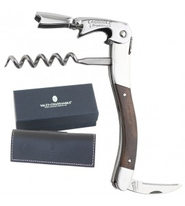 Laguiole Tradition® Two-Lever Waiter's Corkscrew, Maple Wood