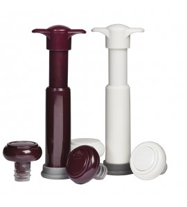 VinoVac™ Wine Saver System, Boxed (One Pump and two Stoppers)