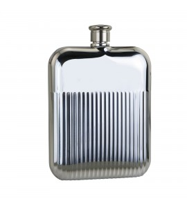 Speed Line Flask, 6 oz. Bright Stainless Steel
