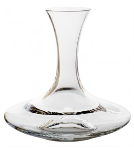 Sure-Handed Decanter with Finger Grip, 46 ounces Rim-full