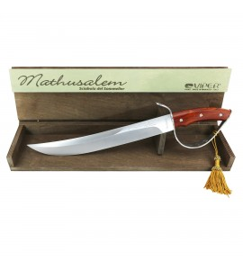 Mathusalem Champagne Saber with Cocobolo Handle (Italy)