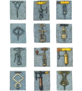 Birmingham Antique Corkscrew Magnet Collection