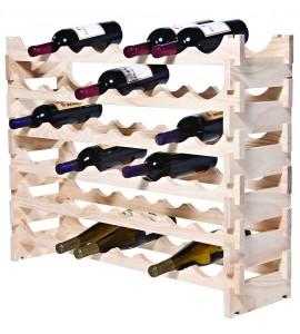 VinRack™  6 x 8=48 Bottle Rack, Natural