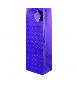 Purple Hologram Gift Bag