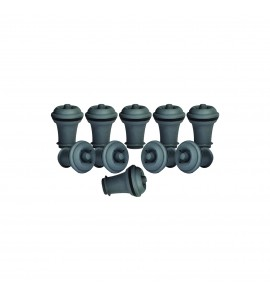 VacuVin® Vacuum Wine Stoppers, Set of 10