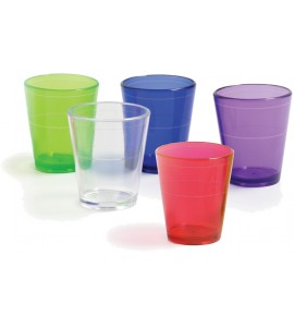 Acrylic Shot Glass, 2 oz. With LInes