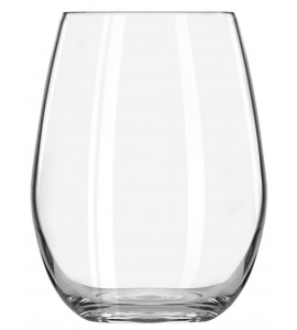 Vigneto Sheer Rim Stemless Wine Glass, 15 oz. Rimfull