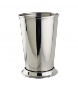 Mint Julep Cup, 12 oz. Rimfull, Polished Stainless Steel