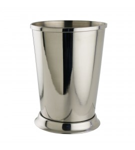 Mint Julep Cup, 15 oz. Rimfull, Polished Stainless Steel