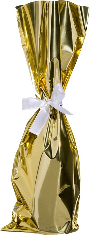 Mylar Wine Bag With Ribbon Bags