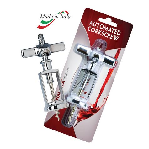 Automatic Corkscrew, Chrome Plated