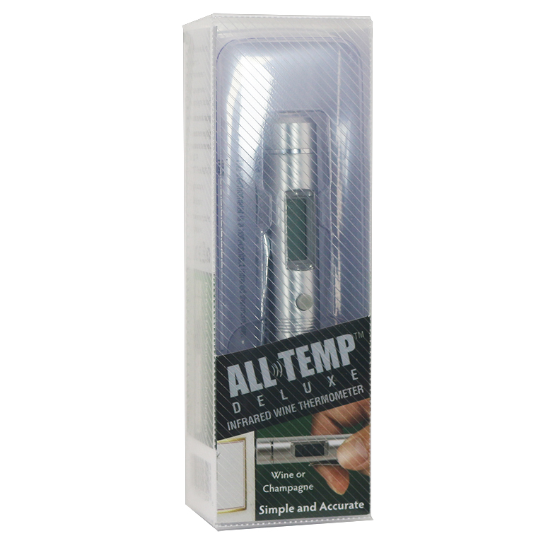 AllTemp™ Digital Wine/Food Thermometer with Clip- Metal Casing