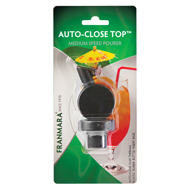 Auto-Close Top Medium Speed Pourer